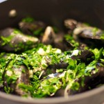 Mussels-cooking